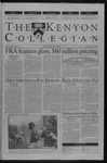 Kenyon Collegian - May 2, 2002