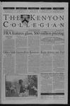 Kenyon Collegian - May 2, 2002