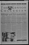 Kenyon Collegian - September 5, 2002