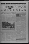 Kenyon Collegian - September 12, 2002