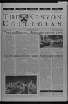Kenyon Collegian - September 19, 2002