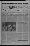 Kenyon Collegian - October 3, 2002