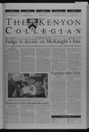 Kenyon Collegian - October 17, 2002
