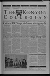 Kenyon Collegian - October 24, 2002