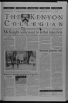 Kenyon Collegian - October 31, 2002