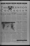 Kenyon Collegian - January 30, 2003