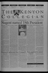 Kenyon Collegian - February 6, 2003