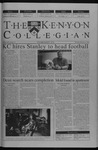 Kenyon Collegian - February 13, 2003