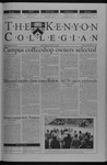 Kenyon Collegian - February 20, 2003