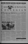 Kenyon Collegian - February 27, 2003