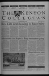 Kenyon Collegian - April 10, 2003