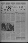 Kenyon Collegian - May 1, 2003