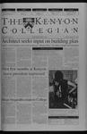 Kenyon Collegian - September 11, 2003