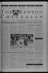 Kenyon Collegian - September 25, 2003