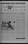 Kenyon Collegian - October 2, 2003