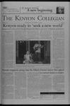 Kenyon Collegian - October 23, 2003