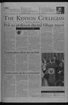Kenyon Collegian - November 6, 2003