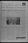 Kenyon Collegian - February 19, 2004