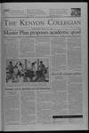 Kenyon Collegian - March 4, 2004