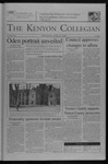 Kenyon Collegian - April 22, 2004