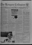 Kenyon Collegian - September 22, 1994