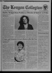 Kenyon Collegian - October 13, 1994