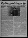 Kenyon Collegian - November 17, 1994