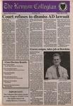 Kenyon Collegian - September 15, 1995