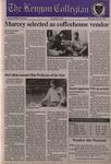 Kenyon Collegian - October 19, 1995