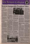 Kenyon Collegian - October 26, 1995