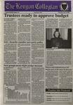Kenyon Collegian - February 8, 1996