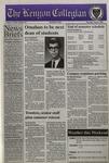 Kenyon Collegian - May 2, 1996