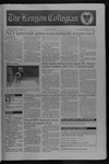 Kenyon Collegian - October 24, 1996