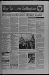 Kenyon Collegian - April 17, 1997