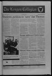 Kenyon Collegian - April 16, 1998