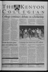 Kenyon Collegian - October 1, 1998