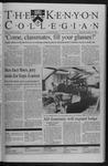 Kenyon Collegian - October 15, 1998