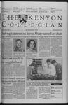 Kenyon Collegian - January 28, 1999