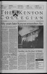 Kenyon Collegian - February 25, 1999