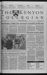 Kenyon Collegian - April 22, 1999