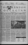 Kenyon Collegian - May 6, 1999