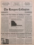 Kenyon Collegian - September 20, 1990