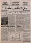 Kenyon Collegian - October 11, 1990