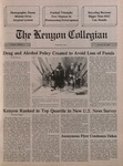 Kenyon Collegian - October 18, 1990