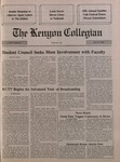 Kenyon Collegian - October 25, 1990