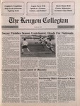 Kenyon Collegian - November 1, 1990