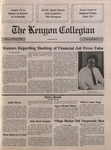 Kenyon Collegian - November 8, 1990