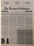 Kenyon Collegian - November 29, 1990