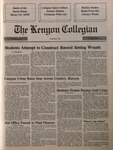Kenyon Collegian - December 13, 1990