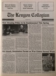 Kenyon Collegian - January 24, 1991